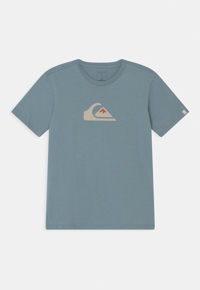 Quiksilver - COMP LOGO  - Print T-shirt - citadel blue