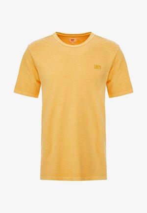 AUTHENTIC CREWNECK TEE - Jednoduché triko - golden apricot