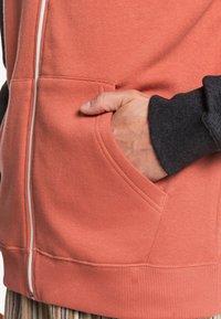 Quiksilver - EVERYDAY - Zip-up sweatshirt - redwood - 1
