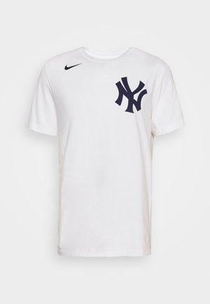 MLB NEW YORK YANKEES WORDMARK - T-shirts print - white