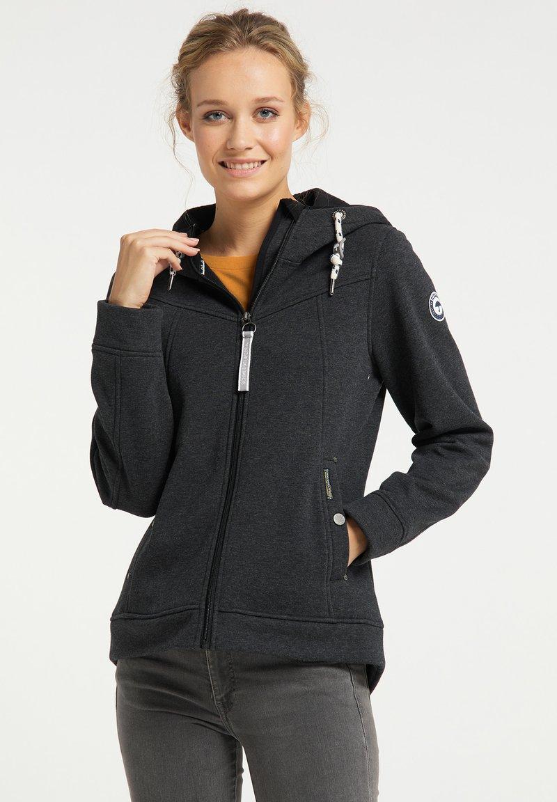 Schmuddelwedda - Outdoor jacket - dunkelgrau melange
