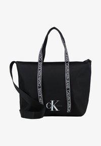 Calvin Klein Jeans - SHOPPER - Tote bag - black