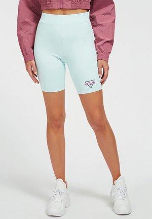 BIKERSTIL LOGO - Shorts - himmelblau