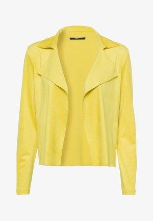 Cardigan - yellow lime
