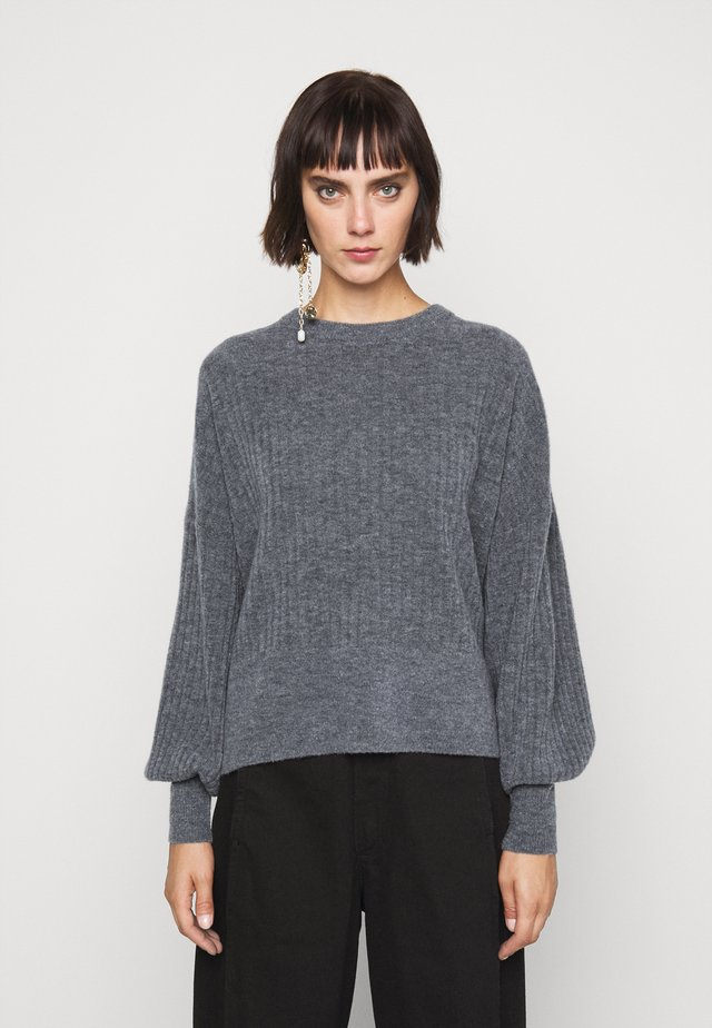 BLAKELY - Neule - dark grey