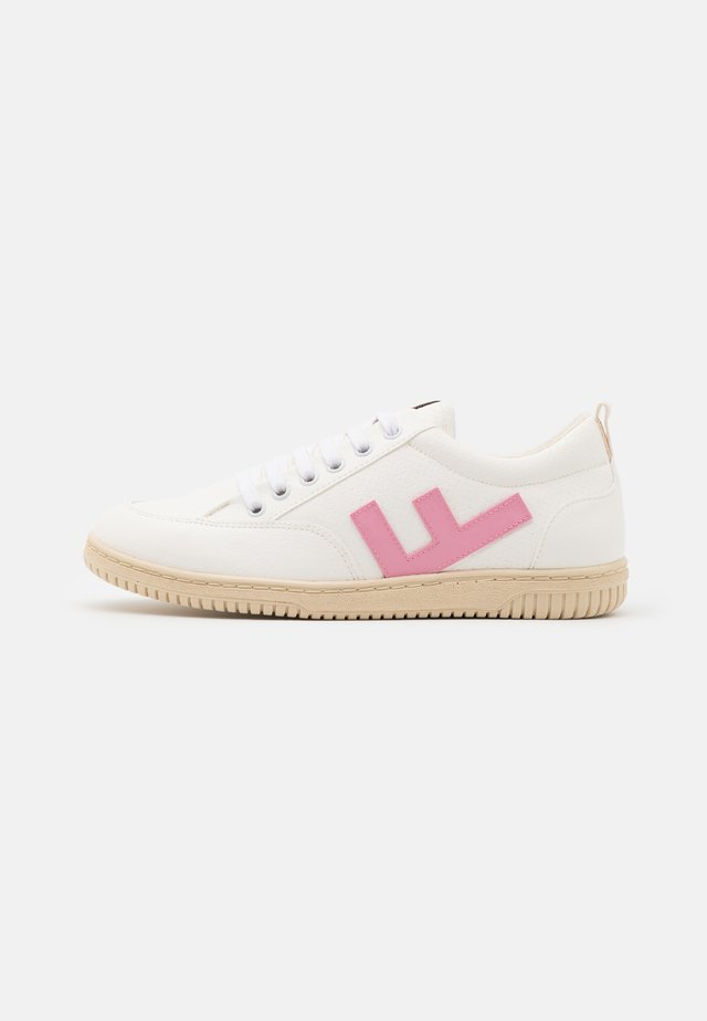 VEGAN ROLAND  - Sneakers basse - white/rose/ivory