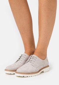 Tamaris - Lace-ups - light grey - 0
