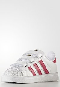 adidas Originals - SUPERSTAR CF  - Baby shoes - white/bold pink - 2