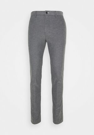 Trousers - charcoal melange