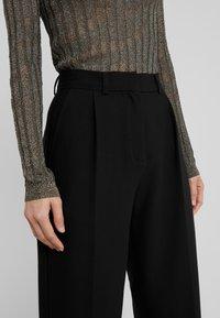 Bruuns Bazaar - CINDY DAGNY PANT - Trousers - black - 5