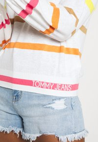 Tommy Jeans - STRIPE - Jumper - ecru/multi - 4