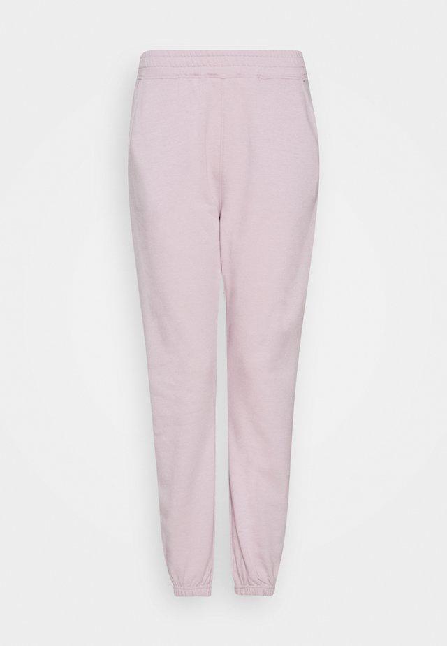 ELASTICATED JOGGERS - Pantalon de survêtement - pink
