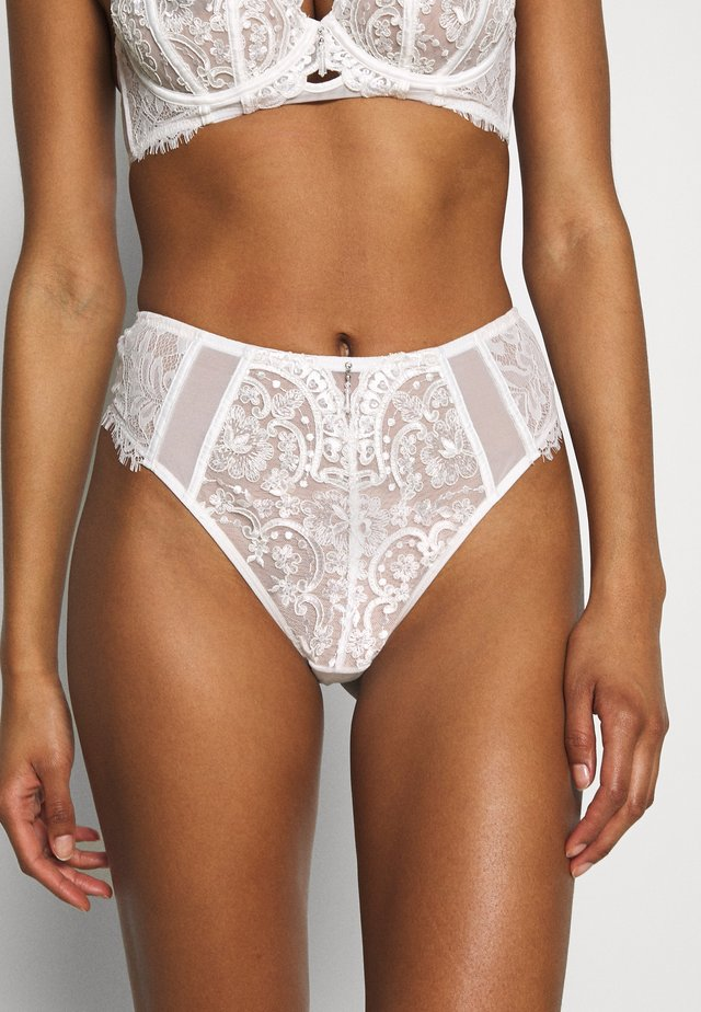 FIERCELY SEXY THONG - G-strenge - white/nude
