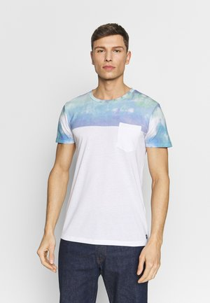 CUTLINE WITH PRINTMIX - T-shirt med print - white