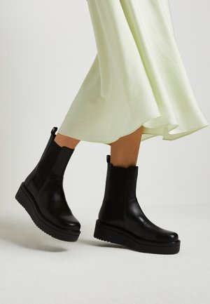 TARA - Wedge Ankle Boots - black