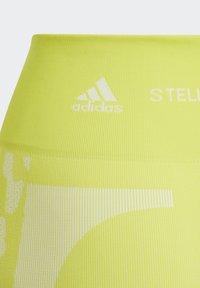 adidas by Stella McCartney - ADIDAS BY STELLA MCCARTNEY TRUEPURPOSE SEAMLESS LEGGI - Medias - yellow - 4