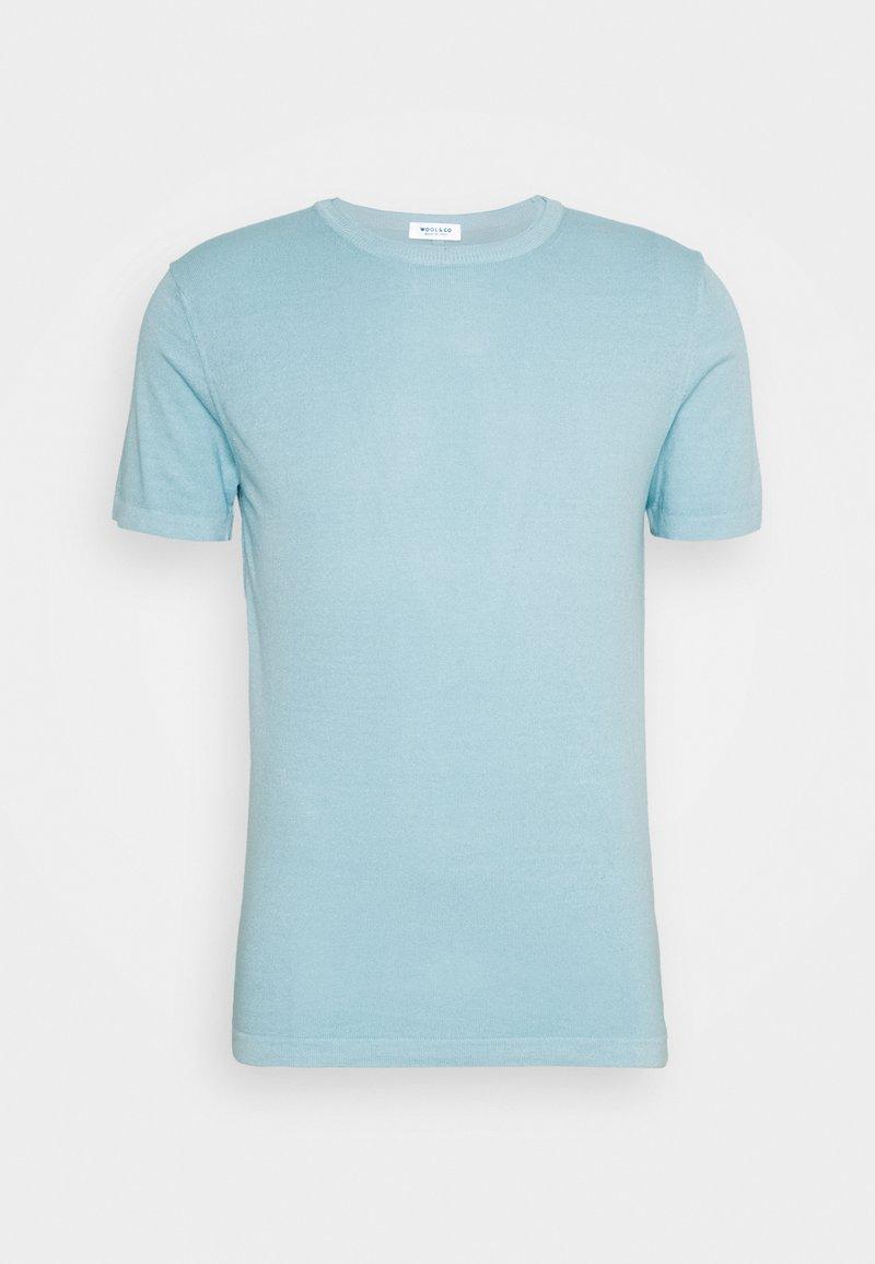 Wool & Co - Jednoduché triko - light blue