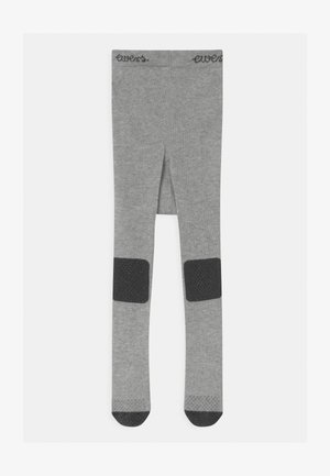 BABY CRAWLER PLAIN UNISEX - Tights - grey