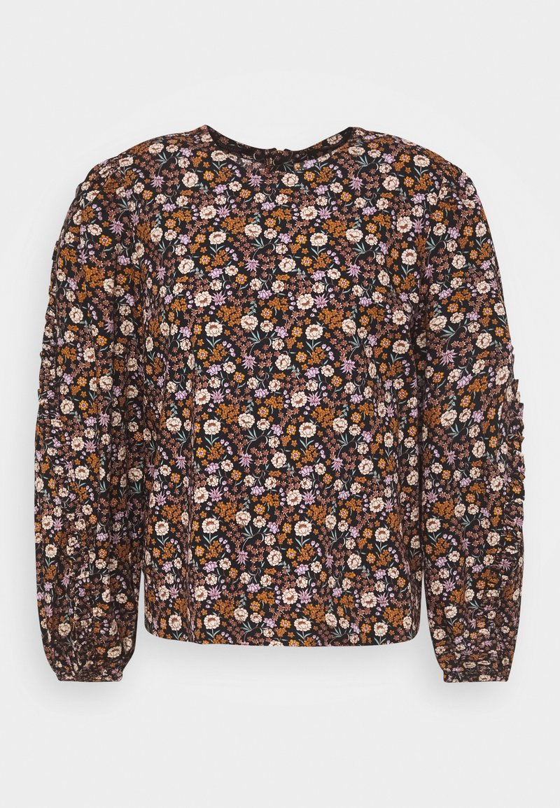 Scotch & Soda - PRINTED FLORAL WITH VOLUMINOUS SLEEVES - Blouse - combo