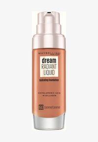 Maybelline New York - DREAM RADIANT LIQUID MAKE-UP - Fond de teint - 60 caramel - 0