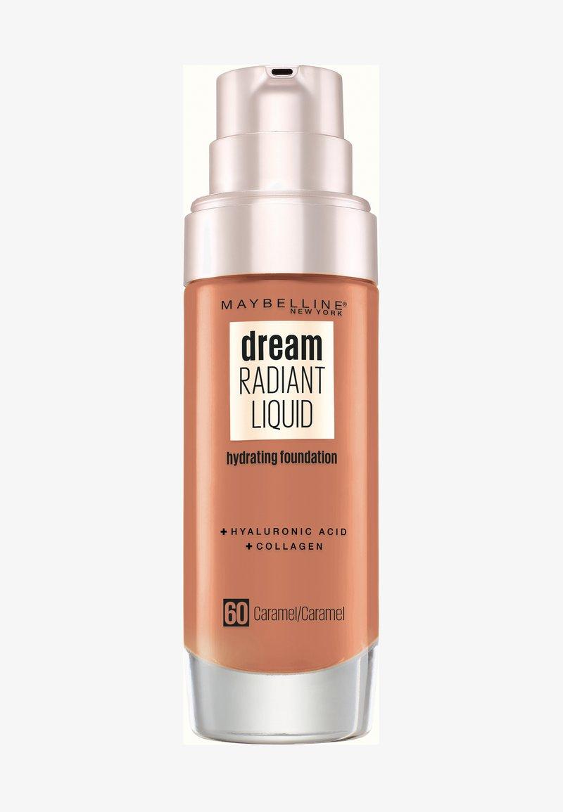 Maybelline New York - DREAM RADIANT LIQUID MAKE-UP - Fond de teint - 60 caramel