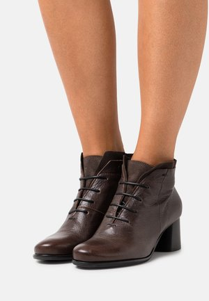 MALABRY - Lace-up heels - zoel brown