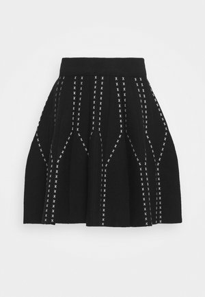 LADIES SKIRT - Mini skirt - black