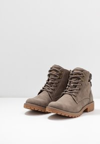 Dockers by Gerli - Lace-up ankle boots - taupe/braun - 4