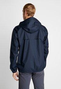 Helly Hansen - BELFAST PACKABLE JACKET - Waterproof jacket - navy - 2