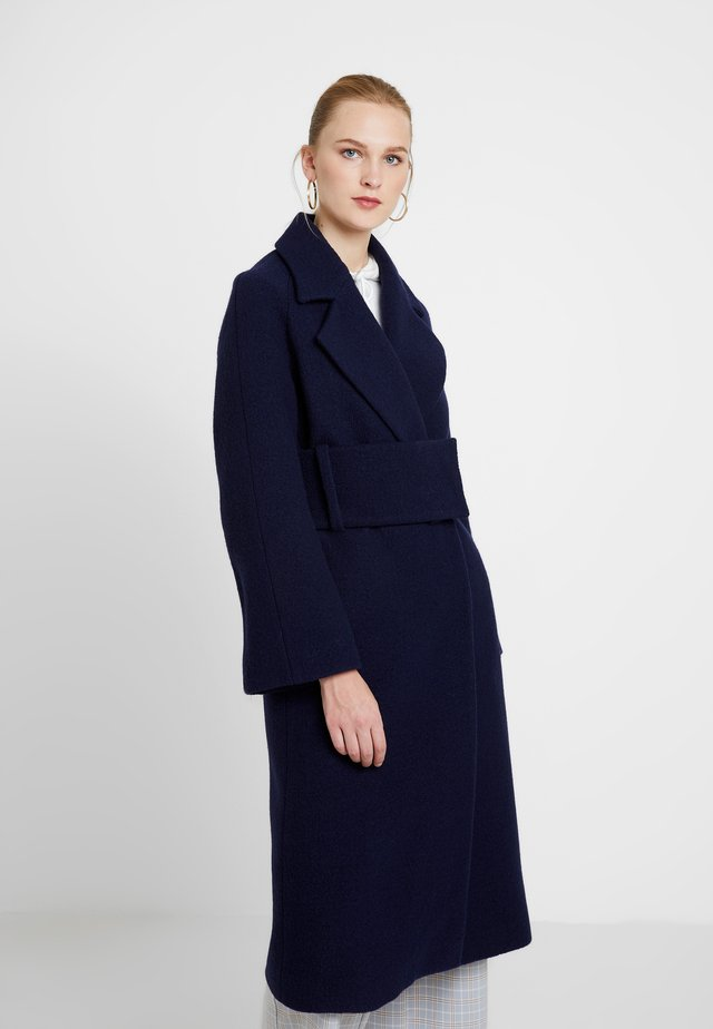 BIG BELT COAT - Kappa / rock - winter true blue