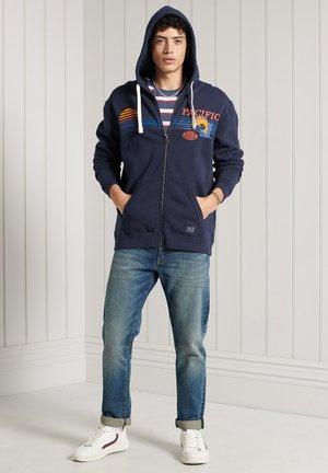 Zip-up hoodie - nautical navy