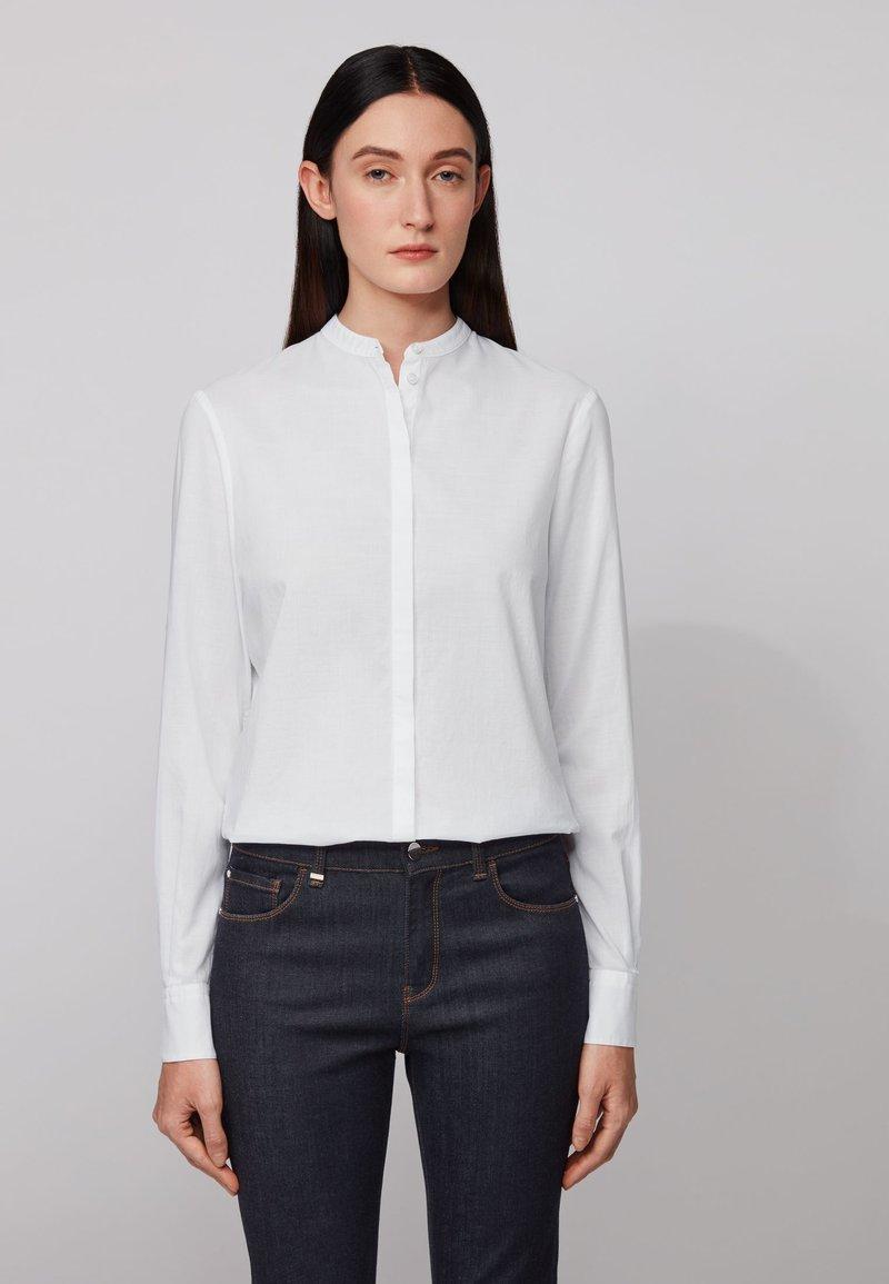 BOSS - EFELIZE - Button-down blouse - white