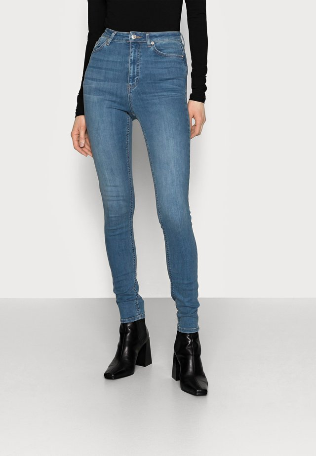 HIGH WAIST  - Jeans Skinny Fit - blue