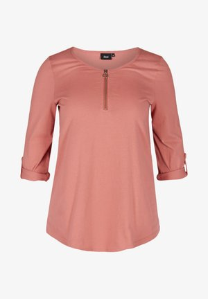 Long sleeved top - canyon rose