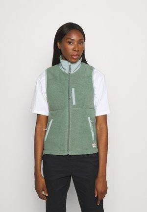 CRAGMONT VEST - Waistcoat - green/silverblue