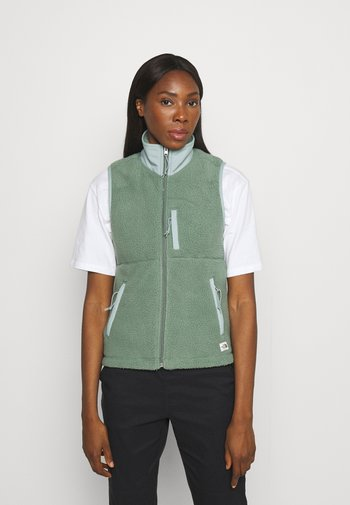 CRAGMONT VEST - Vest - green/silverblue