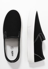 Rubi Shoes by Cotton On - VEGAN HARPER  - Slip-ons - black/white - 3