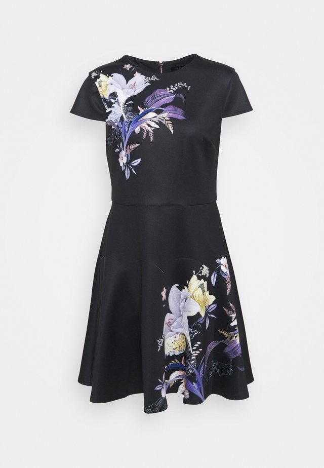 PIPINO - Žerzejové šaty - navy
