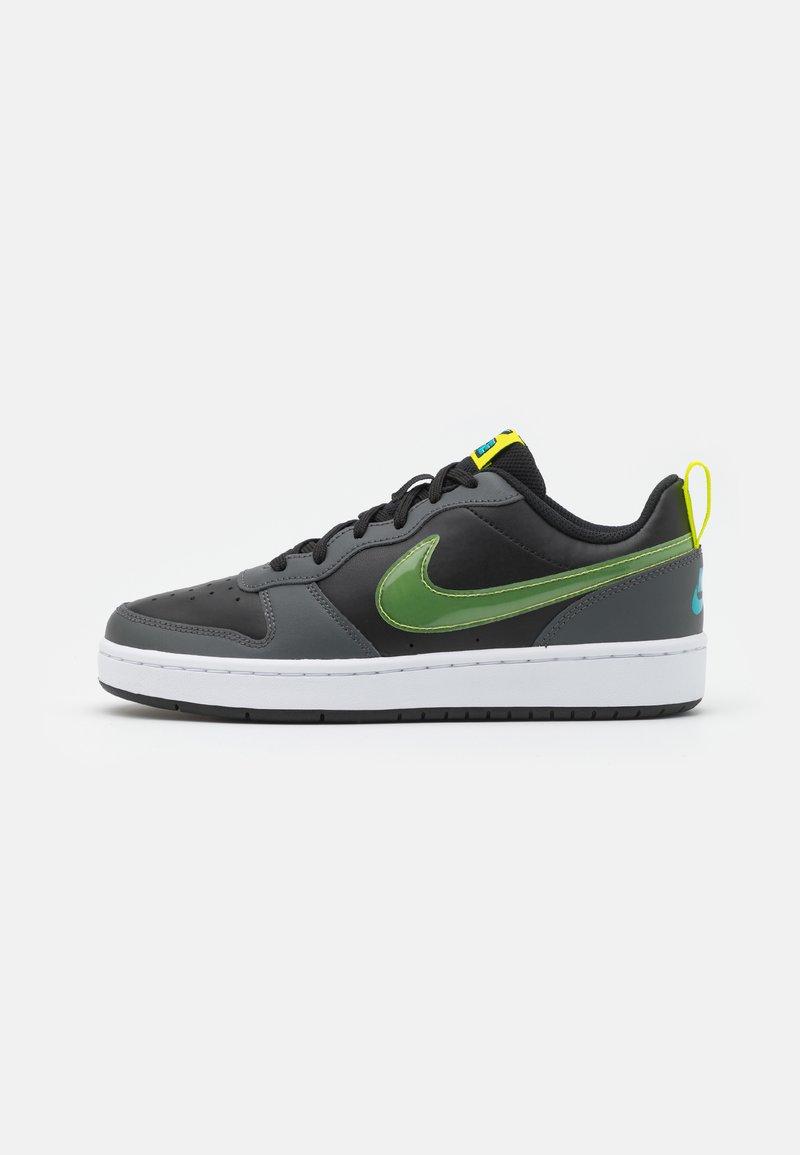 Nike Sportswear - COURT BOROUGH UNISEX - Zapatillas - black/cyber/iron grey/aquamarine