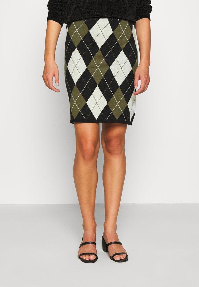 YOUNG LADIES SKIRT - Minifalda - khaki