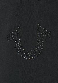 True Religion - HORSESHOE RHINESTONES  - Tracksuit bottoms - black - 5