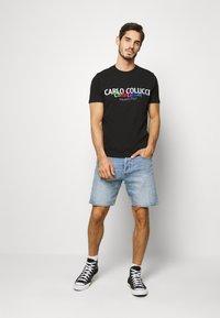 Carlo Colucci - Print T-shirt - schwarz - 1