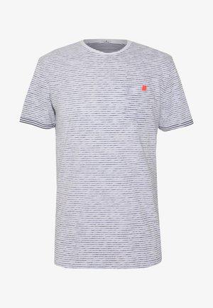 STRIPE TEE - Print T-shirt - white