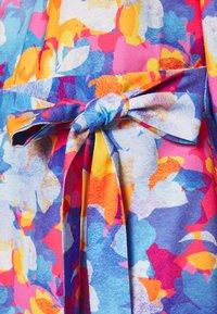 Closet - PLEATED SLEEVE A LINE DRESS - Kjole - blue - 5