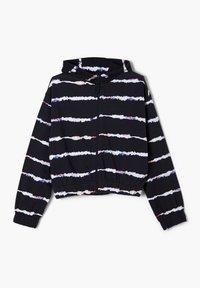 s.Oliver - Hoodie met rits - navy stripes - 2
