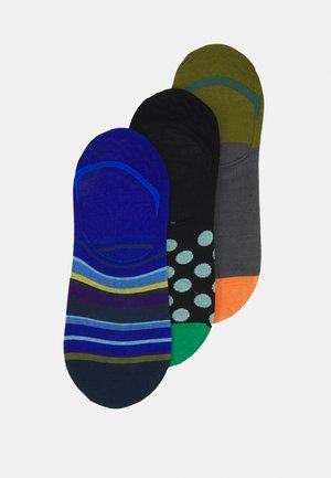 MEN SOCK NO SHOW PIN DOT - Socks - blue/black