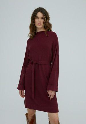NATA - Jersey dress - burgunder
