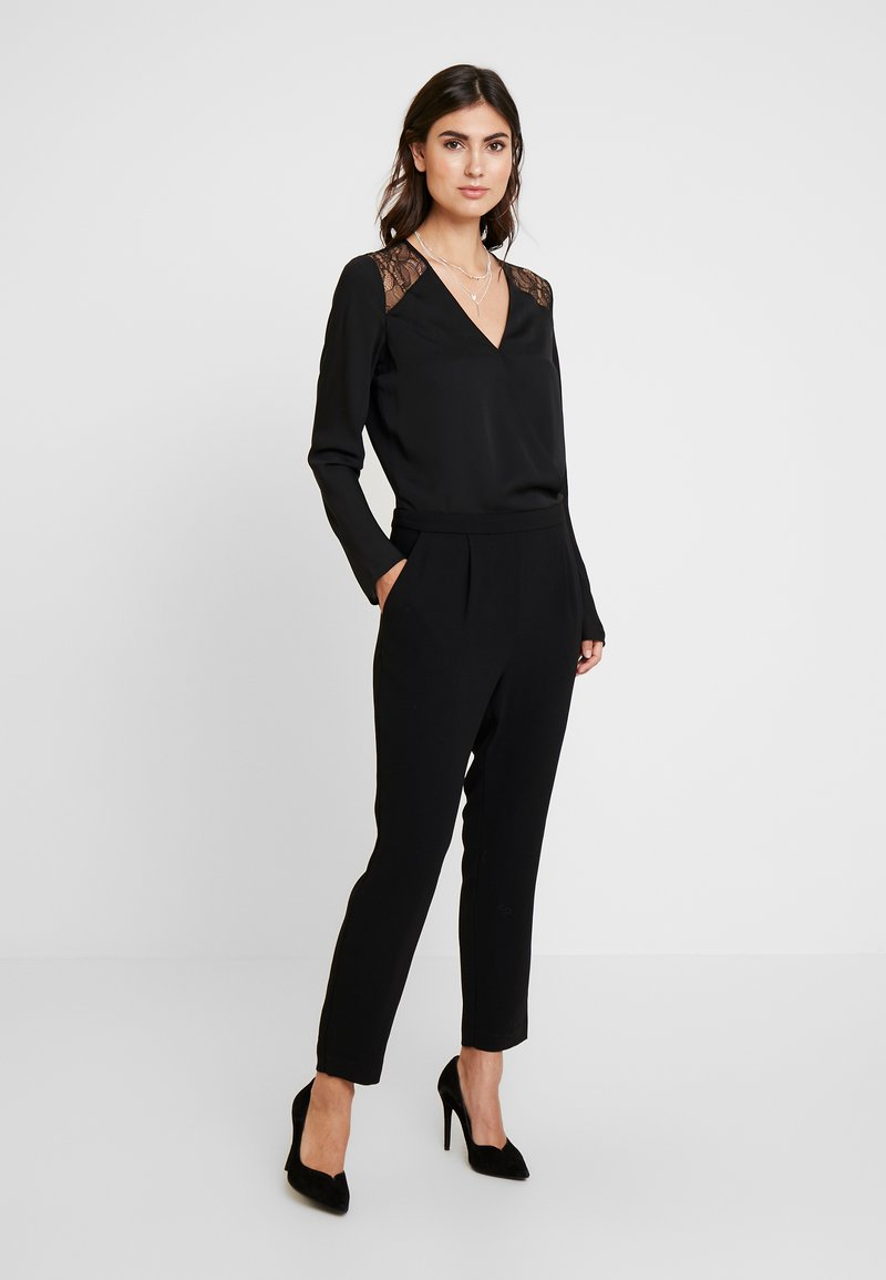 comma - CATSUIT - Jumpsuit - black