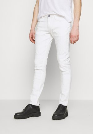 TESSUTO - Jeans slim fit - bianco ottico