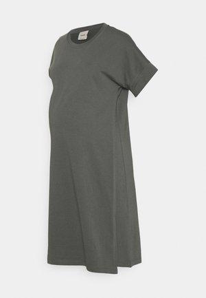 THE SHIRT DRESS - Jerseykjole - willow green